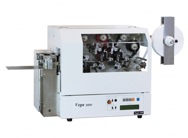 Care label Printer For Woven Tapes Rolled Paper Labels